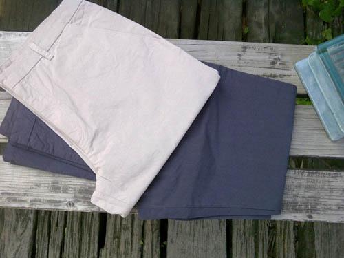 evam eva cotton pants