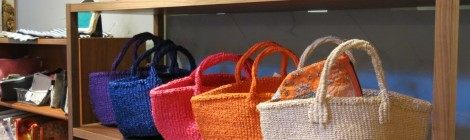 COLORFUL BASKET BAGS
