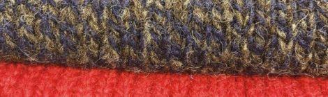 James Charlotte Hand Framed Knit